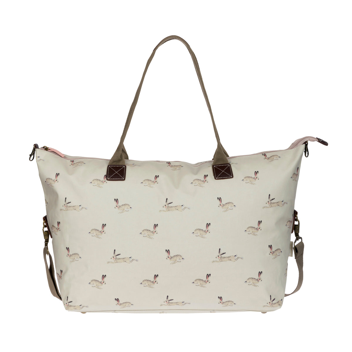 Hare Oilcloth Oundle Weekend Bag