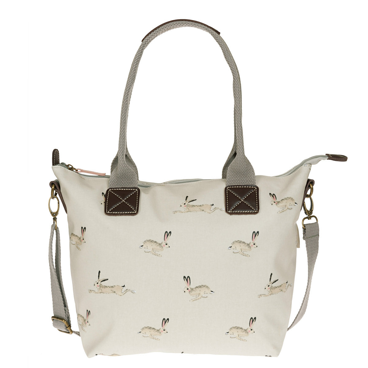 Hare Mini Oilcloth Oundle Bag