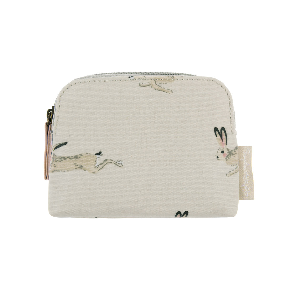 Hare Oilcloth Coin Purse