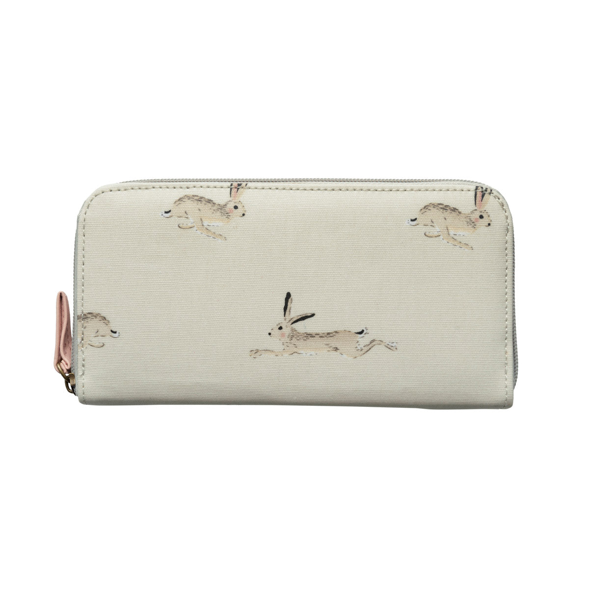 Hare Oilcloth Wallet