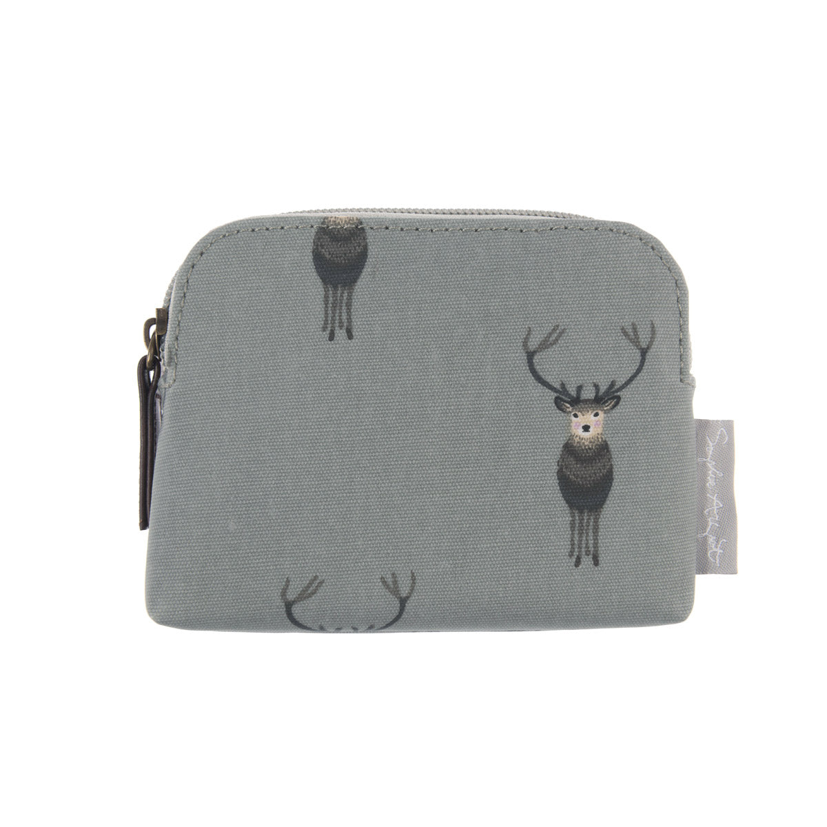 Highland Stag Oilcloth Coin Purse