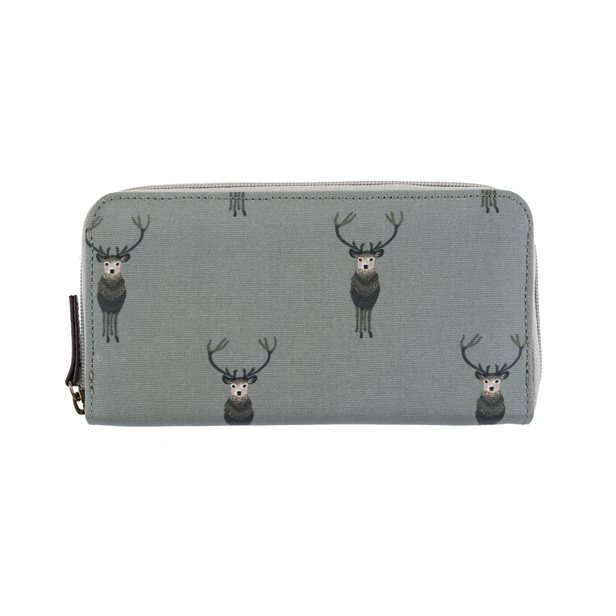 Highland Stag Oilcloth Wallet