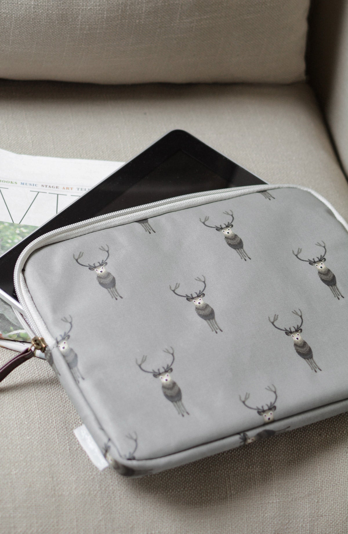 Highland Stag iPad Case