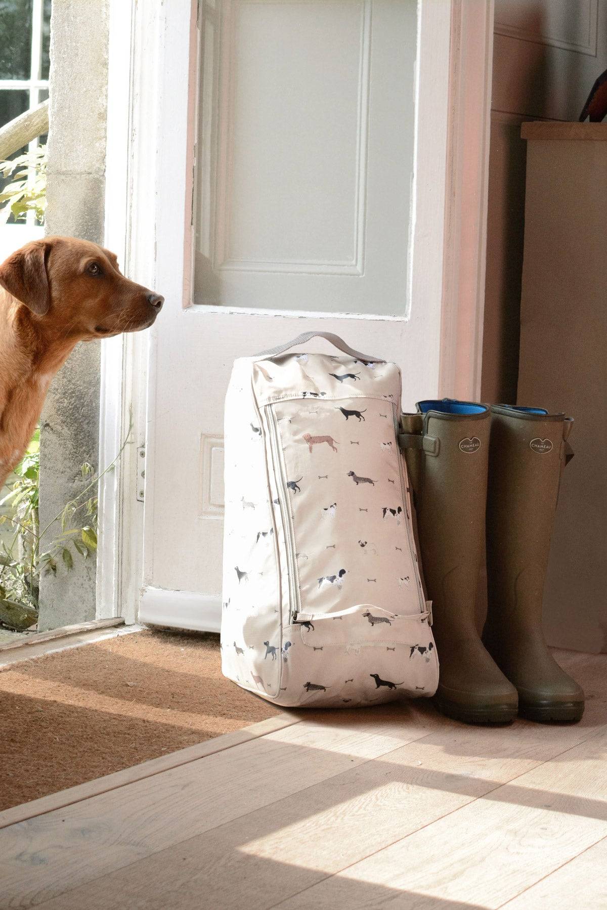 Woof Large Boot Bag