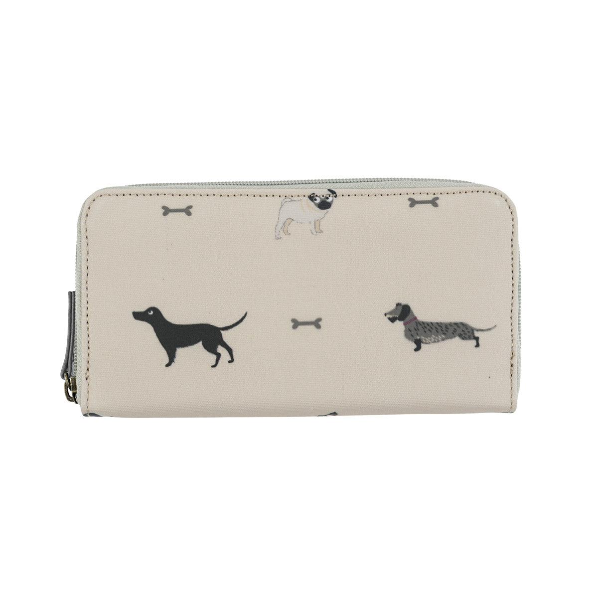 Woof Oilcloth Wallet