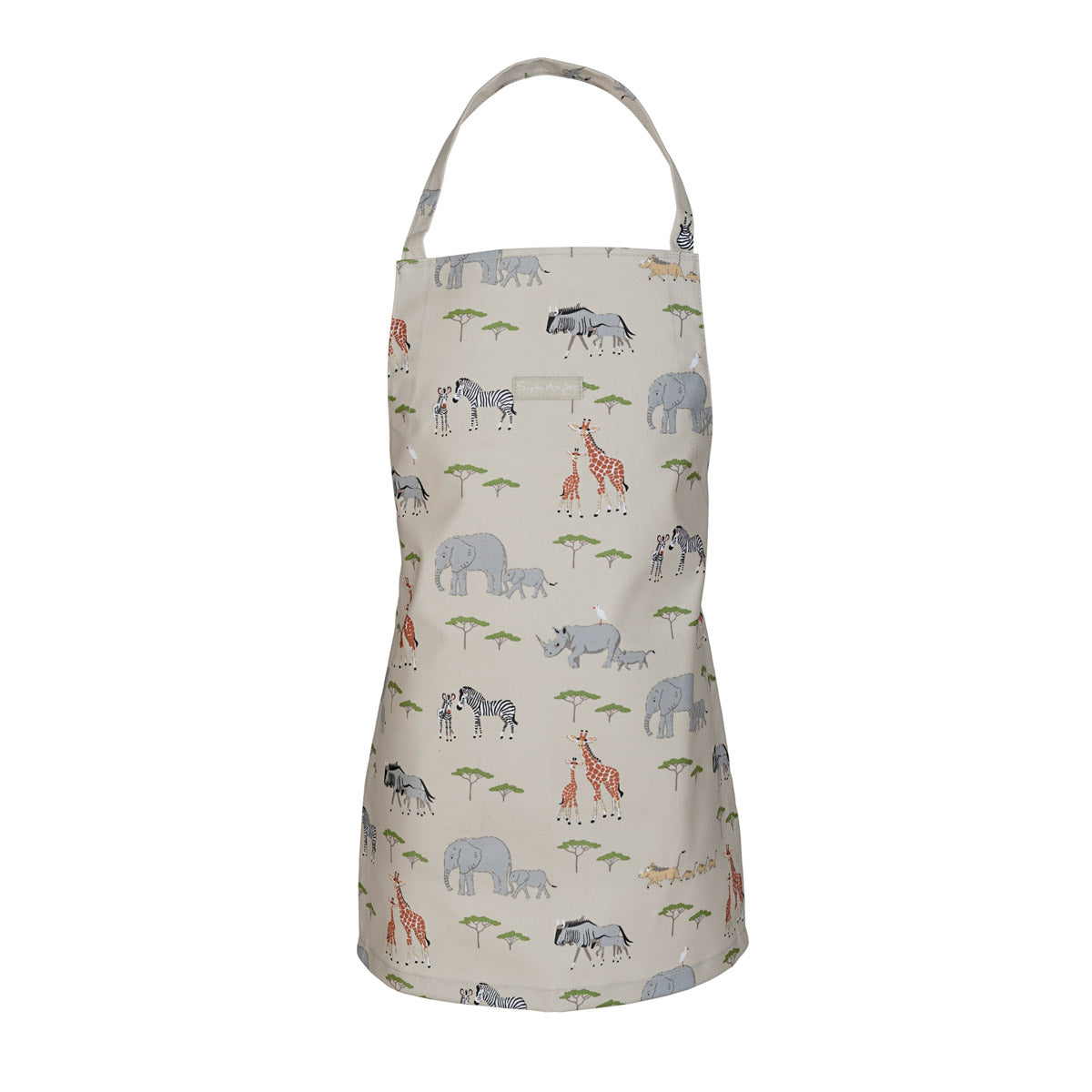 Safari Kids Oilcloth Apron