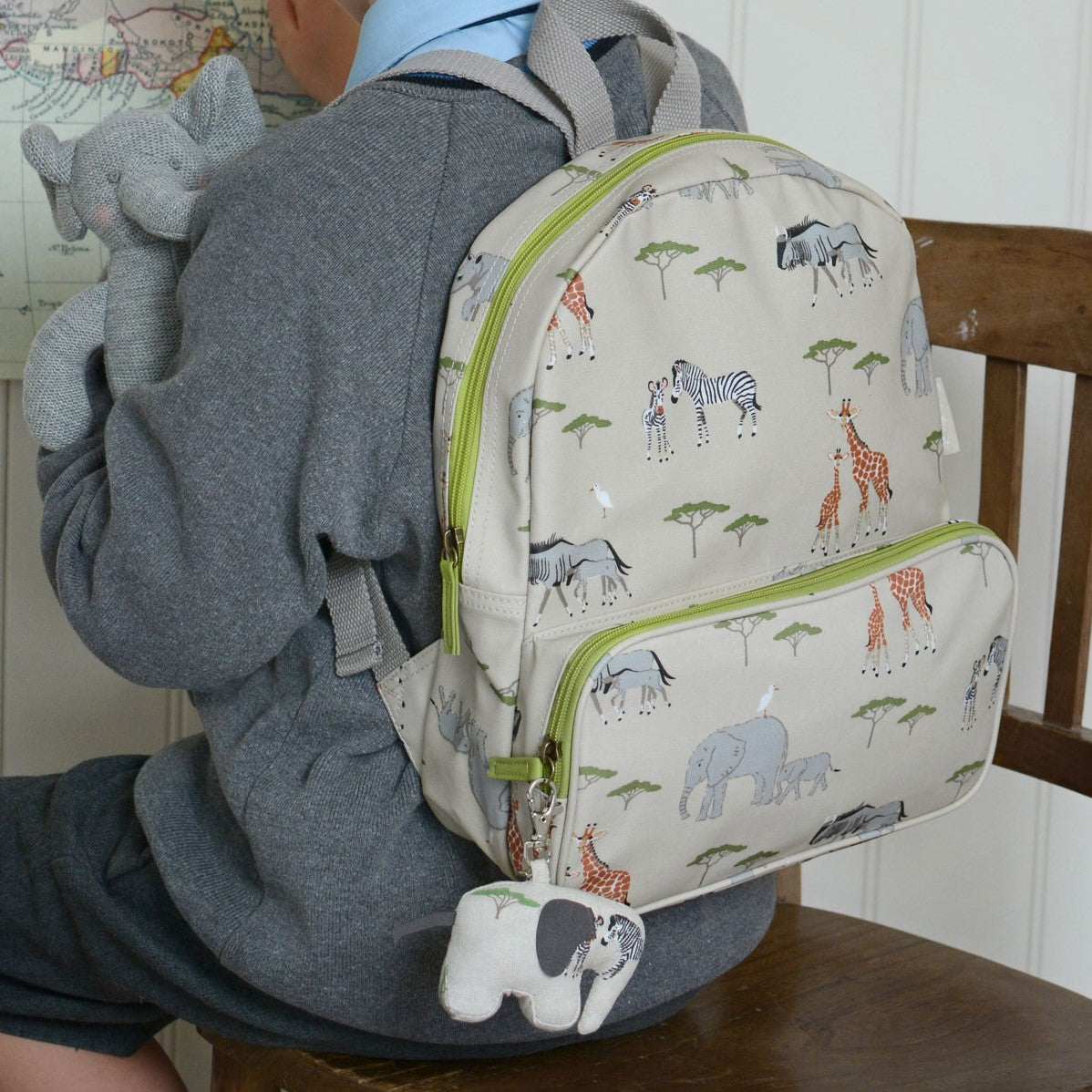 Safari Oilcloth Backpack