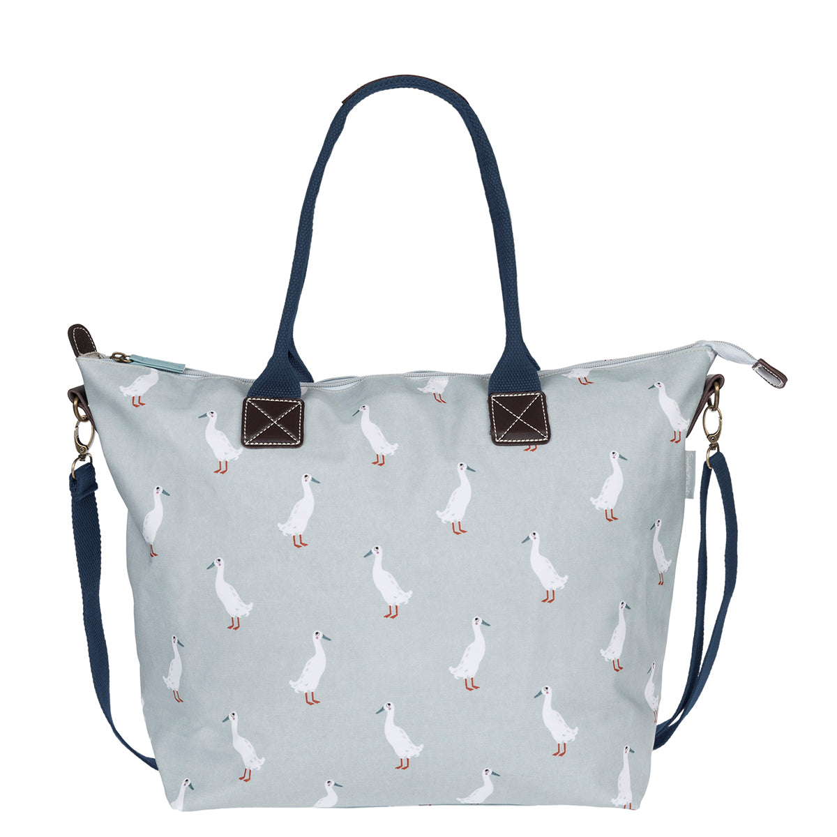 Runner Duck Oilcloth Oundle Bag by Sophie Allport