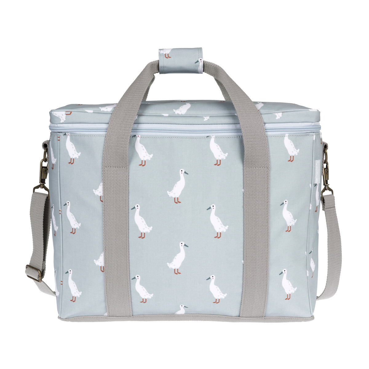 Runner Duck Oilcloth Picnic Bag