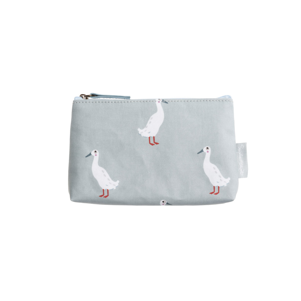 Runner Duck Oilcloth Cosmetic Pouch