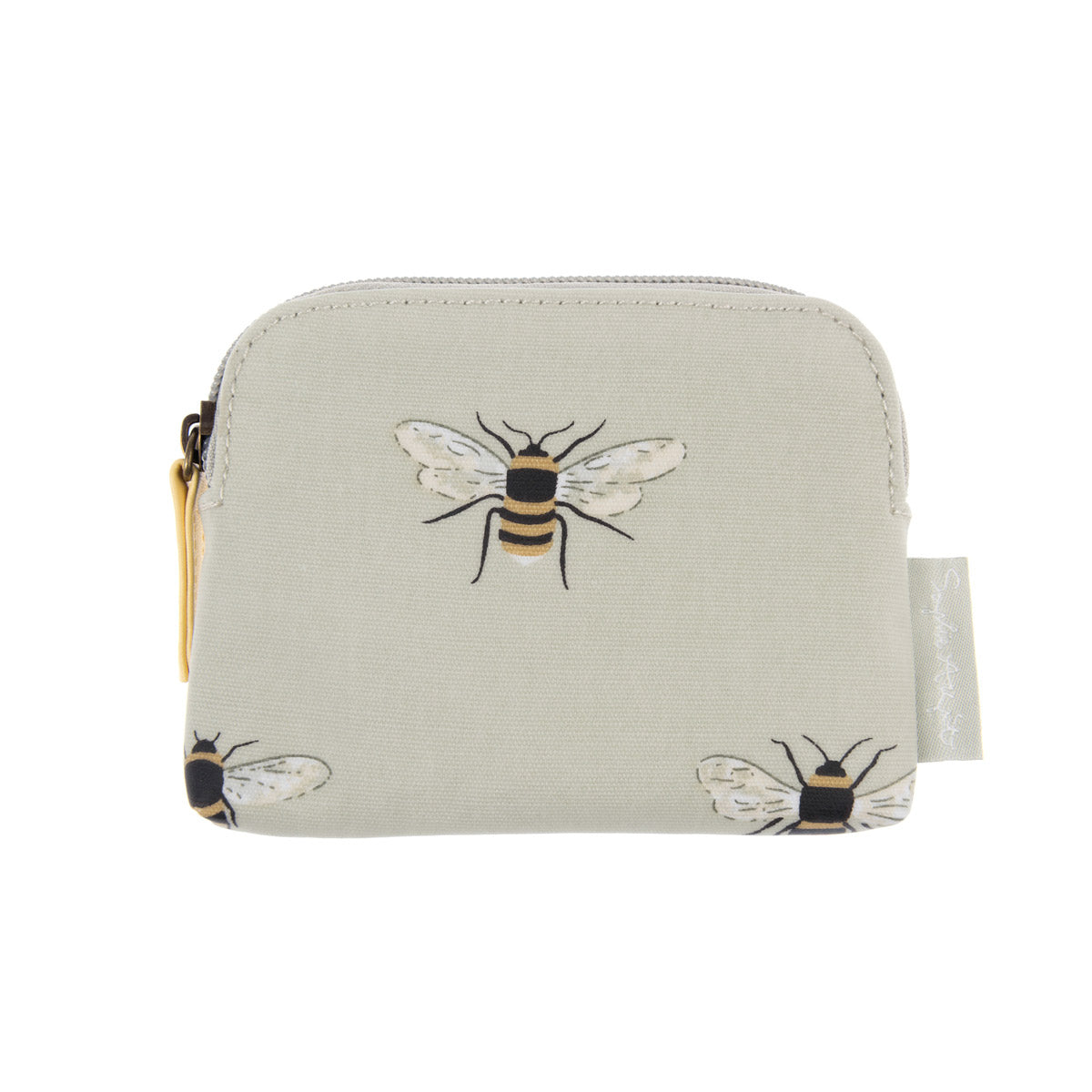 Bees Oilcloth Coin Purse