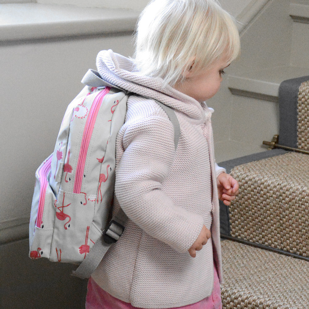 Flamingos Oilcloth Backpack