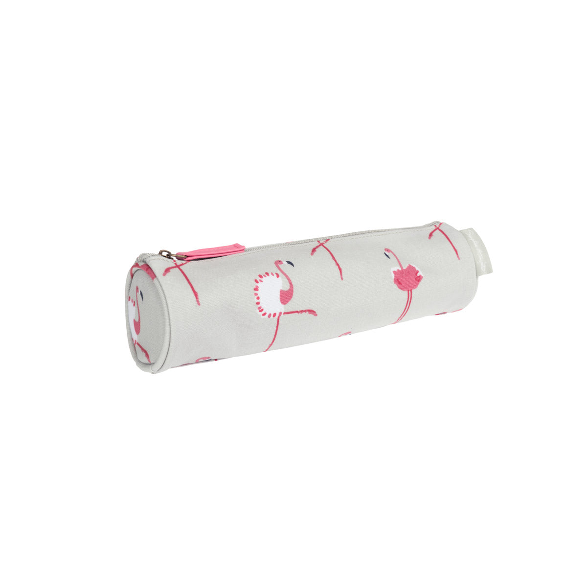 Flamingos Oilcloth Pencil Case