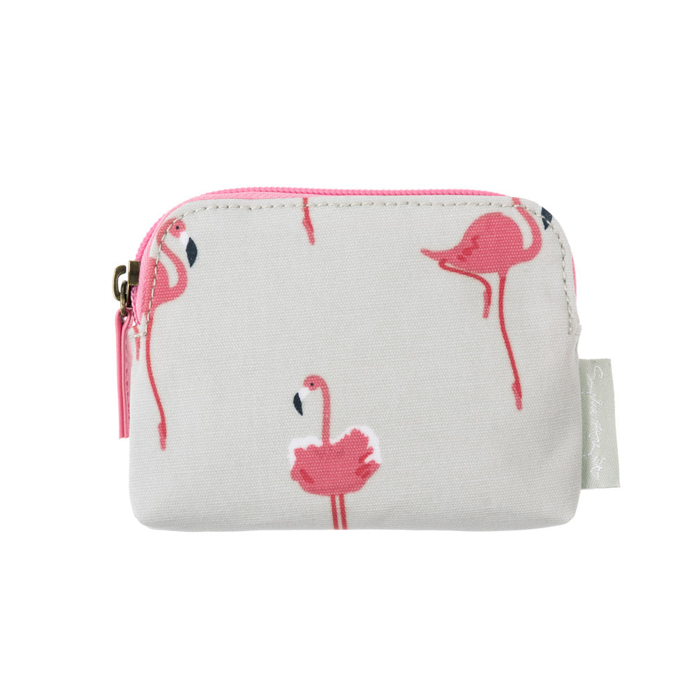 Flamingos Oilcloth Coin Purse