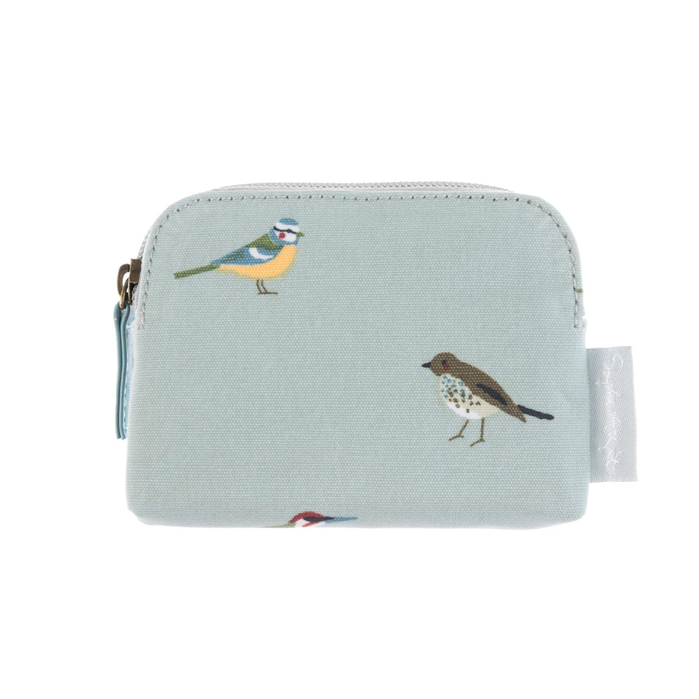 Garden Birds Oilcloth Coin Purse