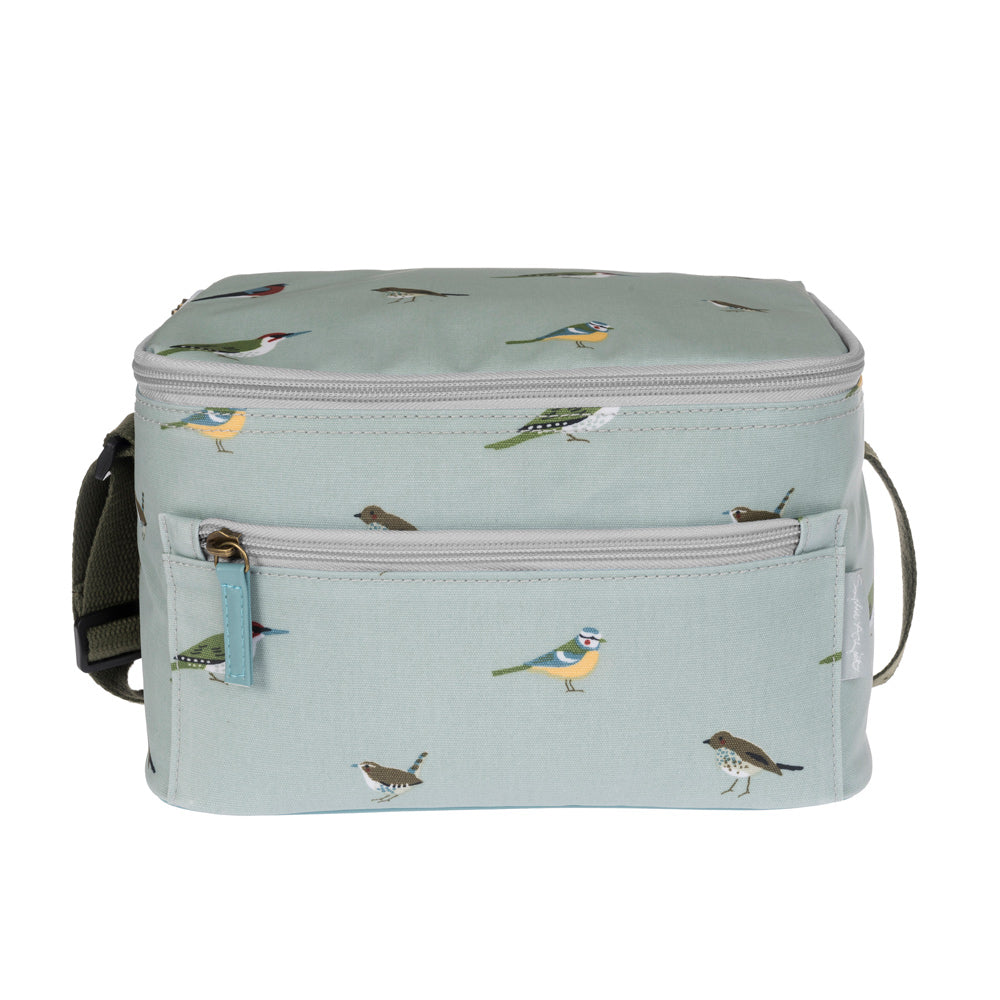 Garden Birds Oilcloth Lunch Bag