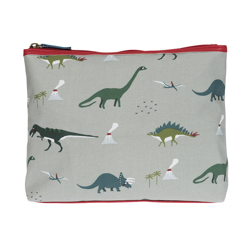 Dinosaurs Oilcloth Wash Bag