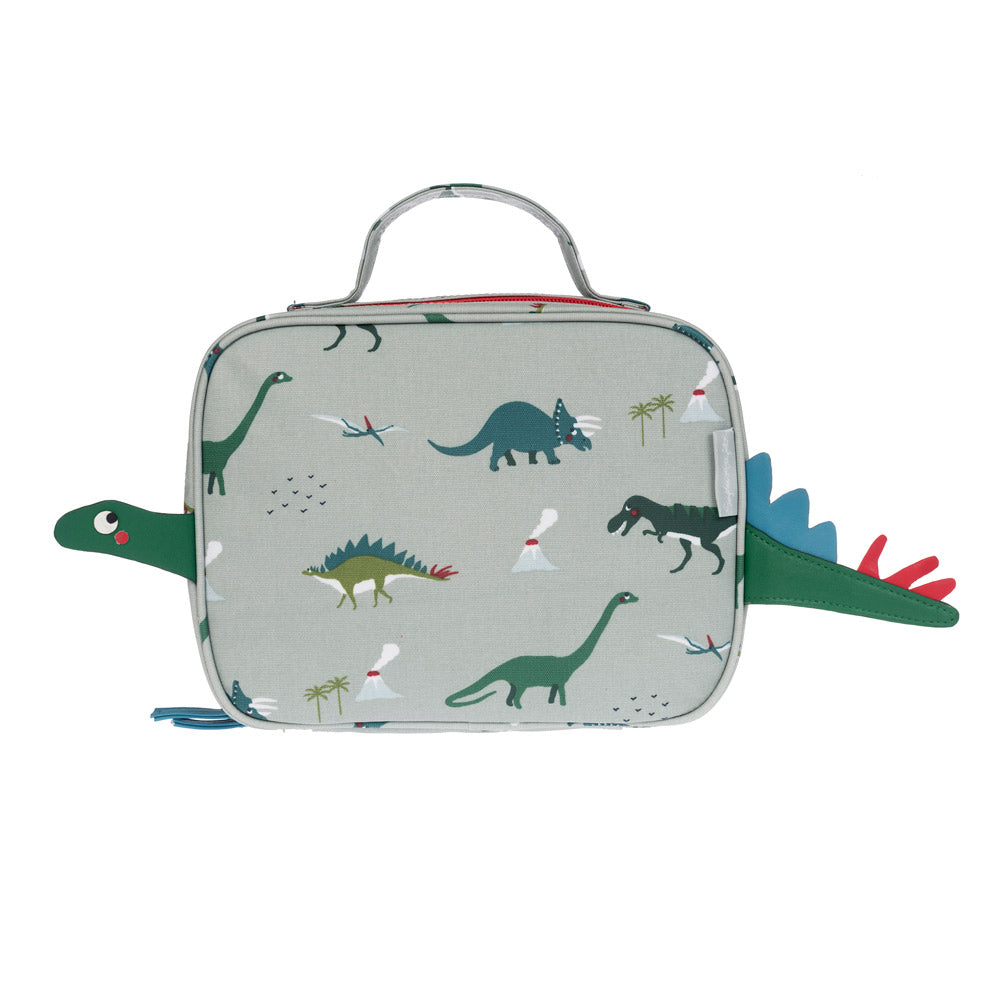 Dinosaurs Small Oilcloth Lunch Bag