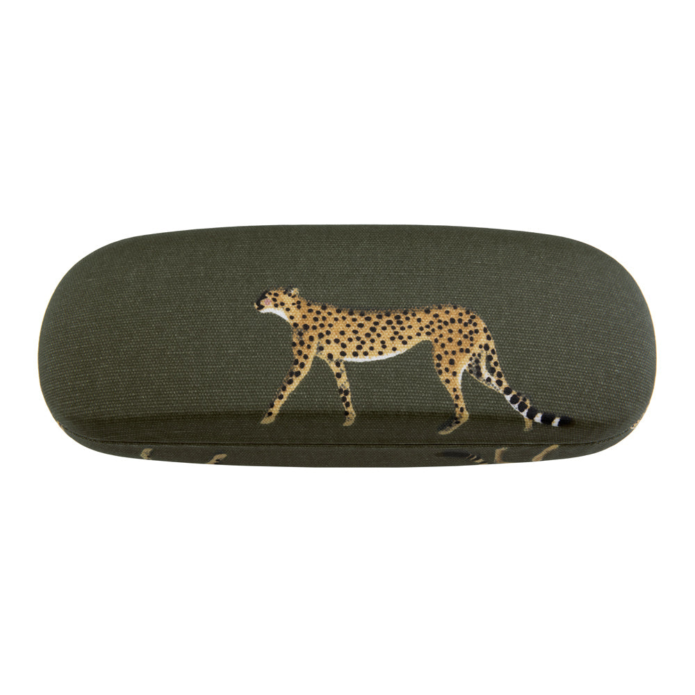 Cheetah Glasses Hard Case