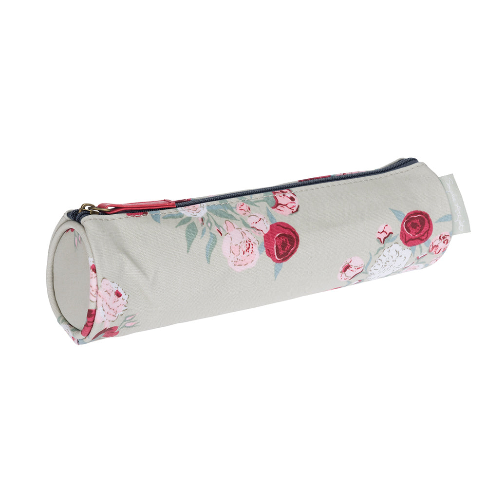 Peony Small Oilcloth Pencil Case
