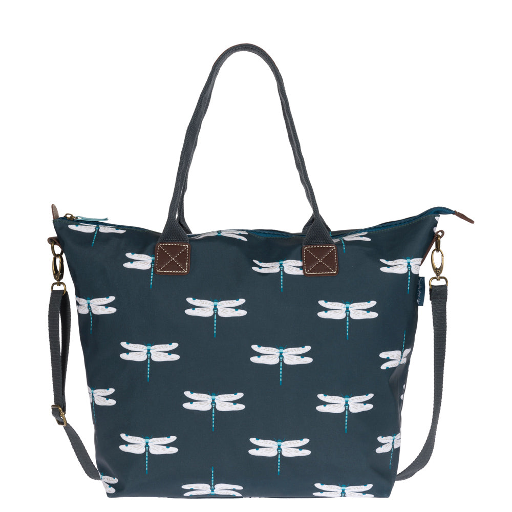 Dragonfly Oilcloth Oundle Bag