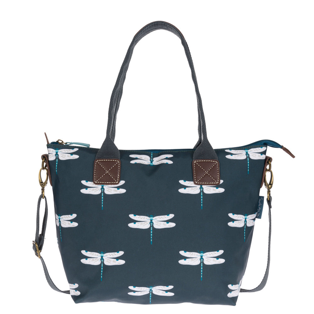 Dragonfly Mini Oilcloth Oundle Bag