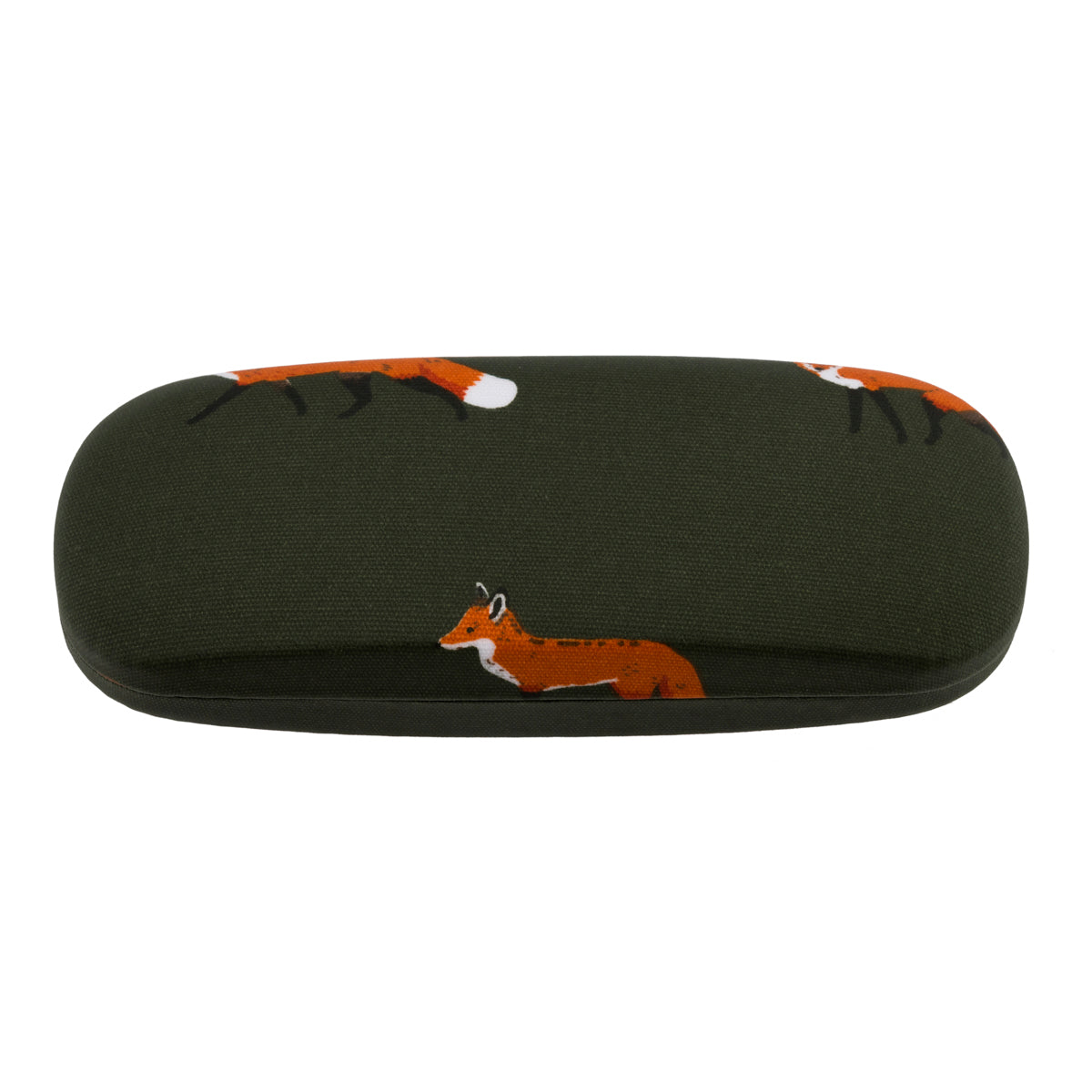 Foxes Glasses Hard Case