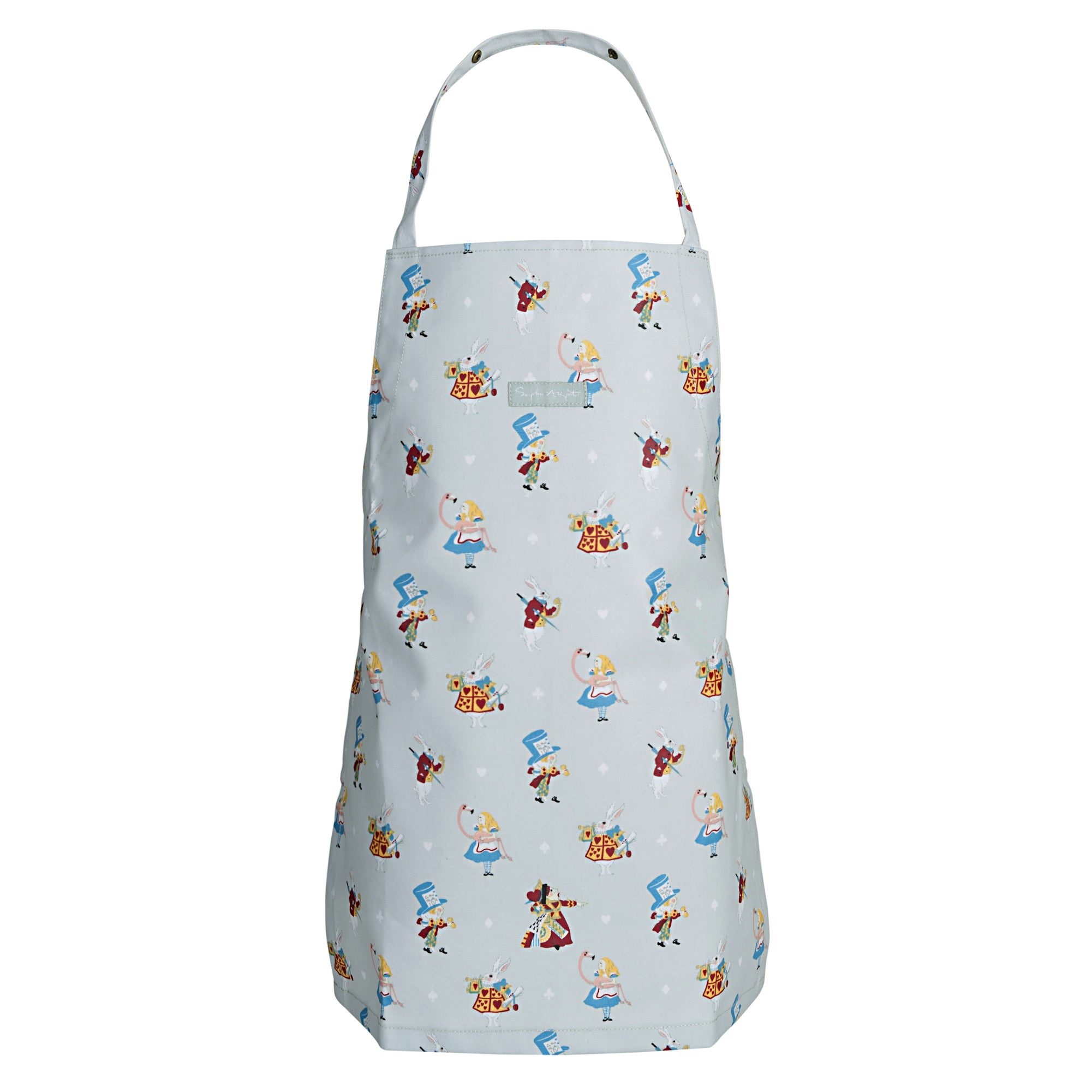 Alice in Wonderland Kids Oilcloth Apron