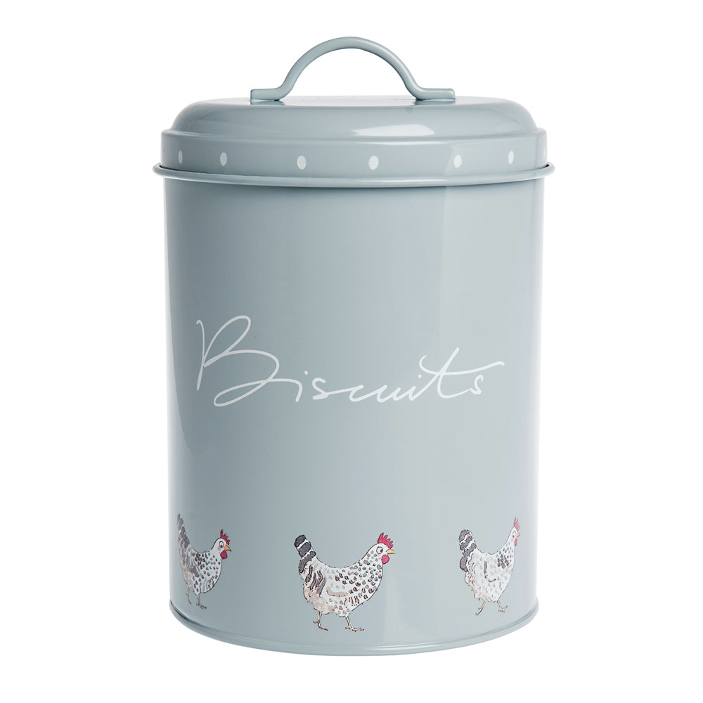 Chicken Biscuit Storage Tin