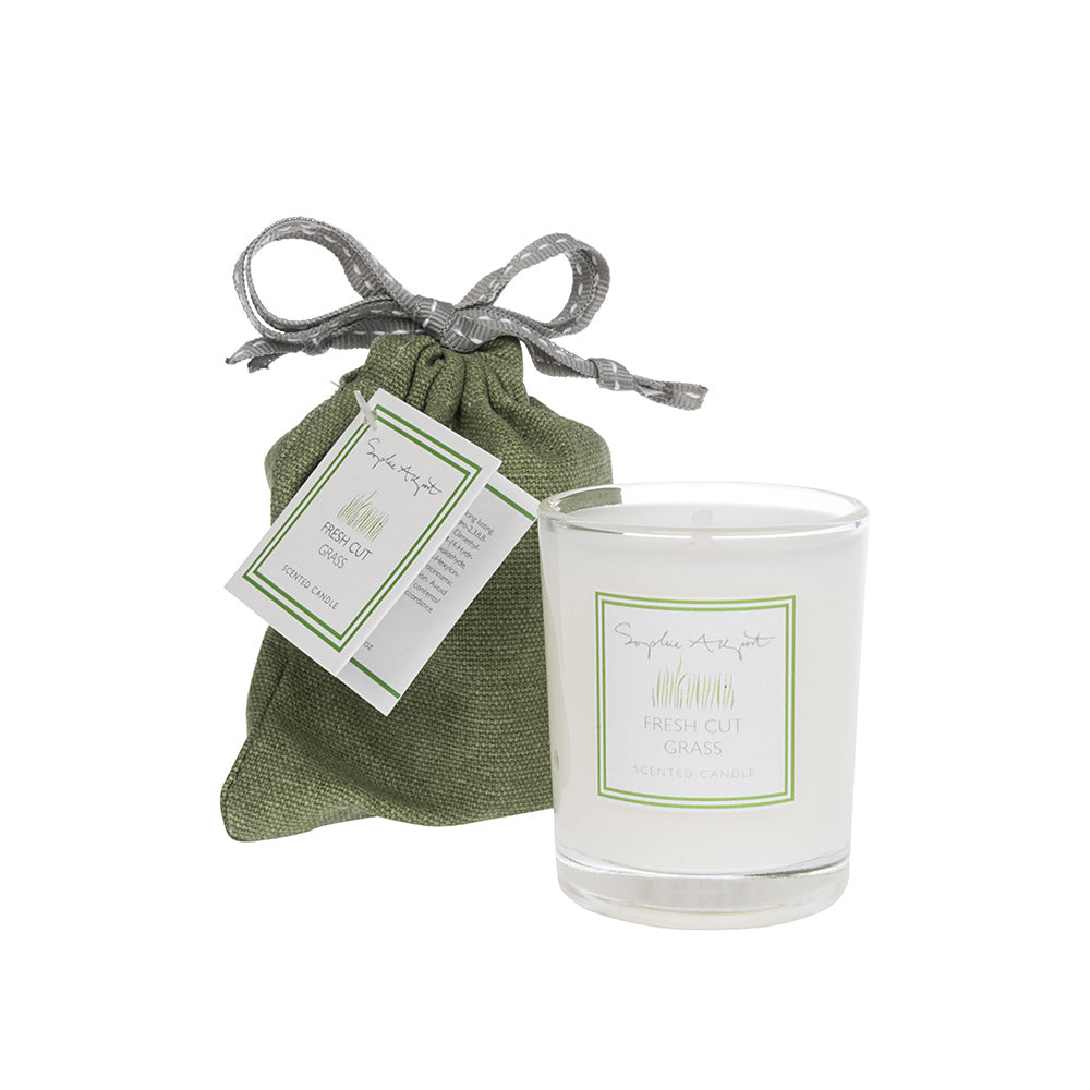 Fresh Cut Grass Scented Candle -75g