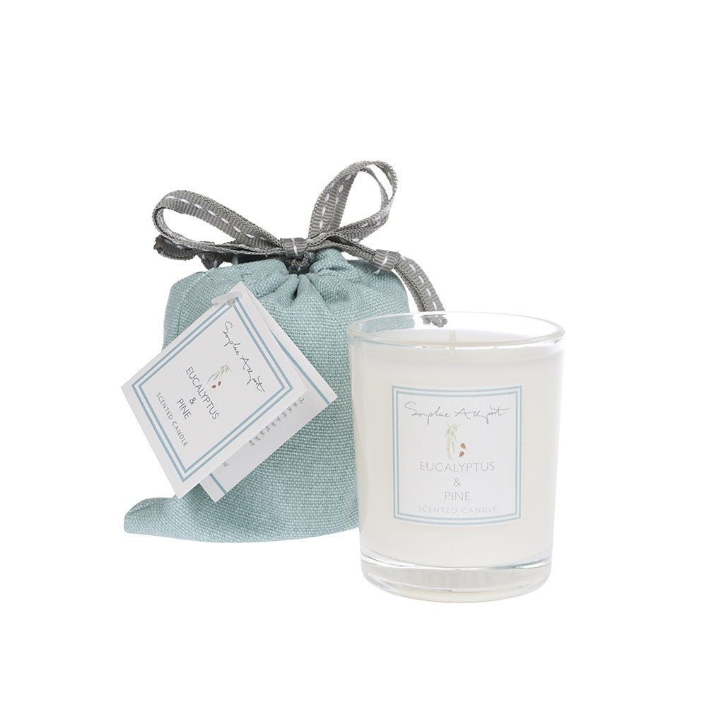 Eucalyptus & Pine Scented Candle -75g