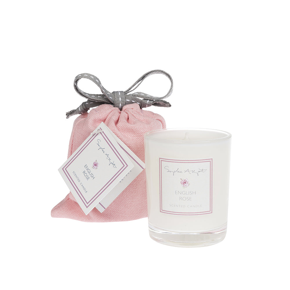 English Rose Scented Candle -75g