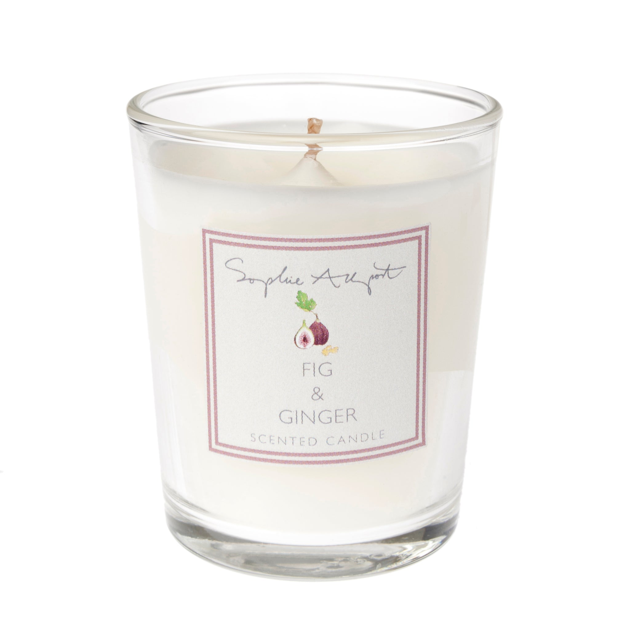 Fig & Ginger Scented Candle - 75g