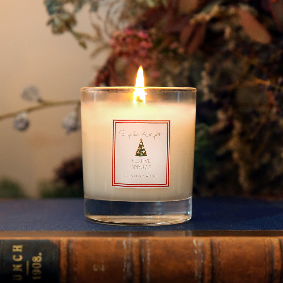 Festive Spruce Candle - 220g