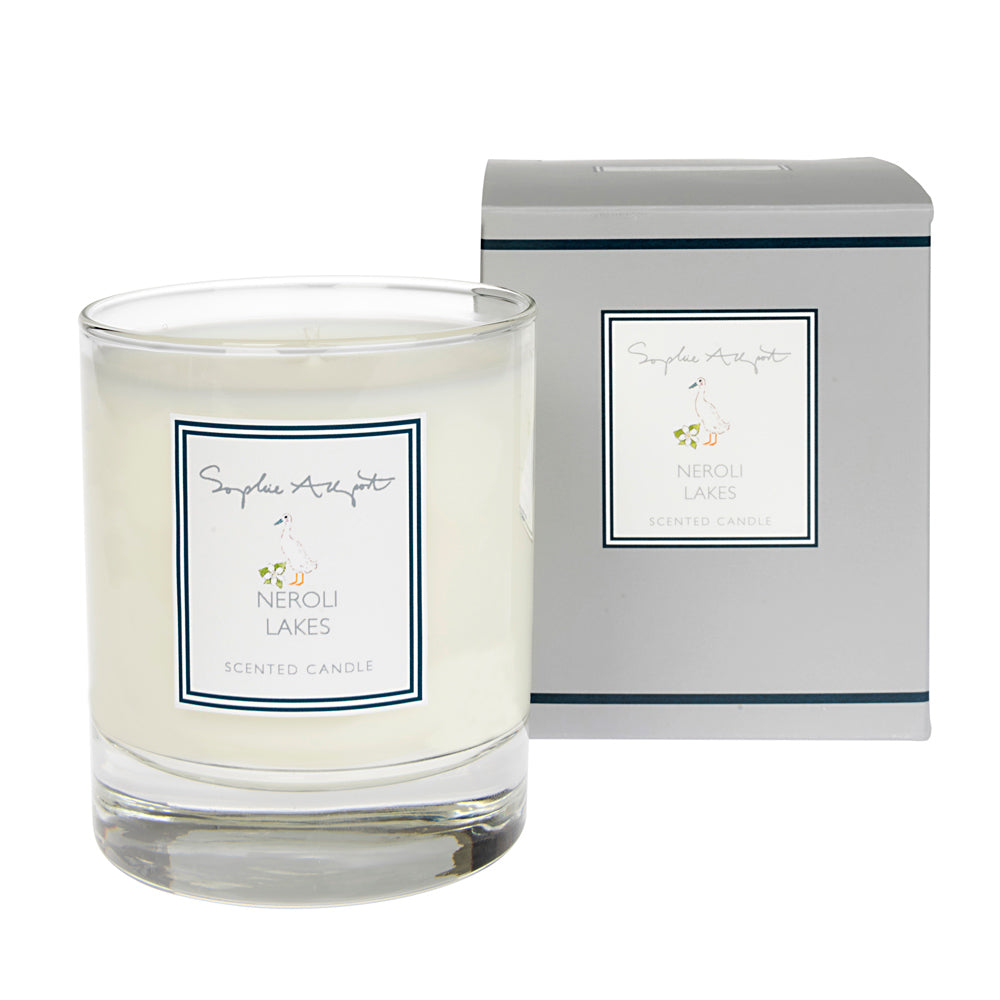 Neroli Lakes Scented Candle - 220g