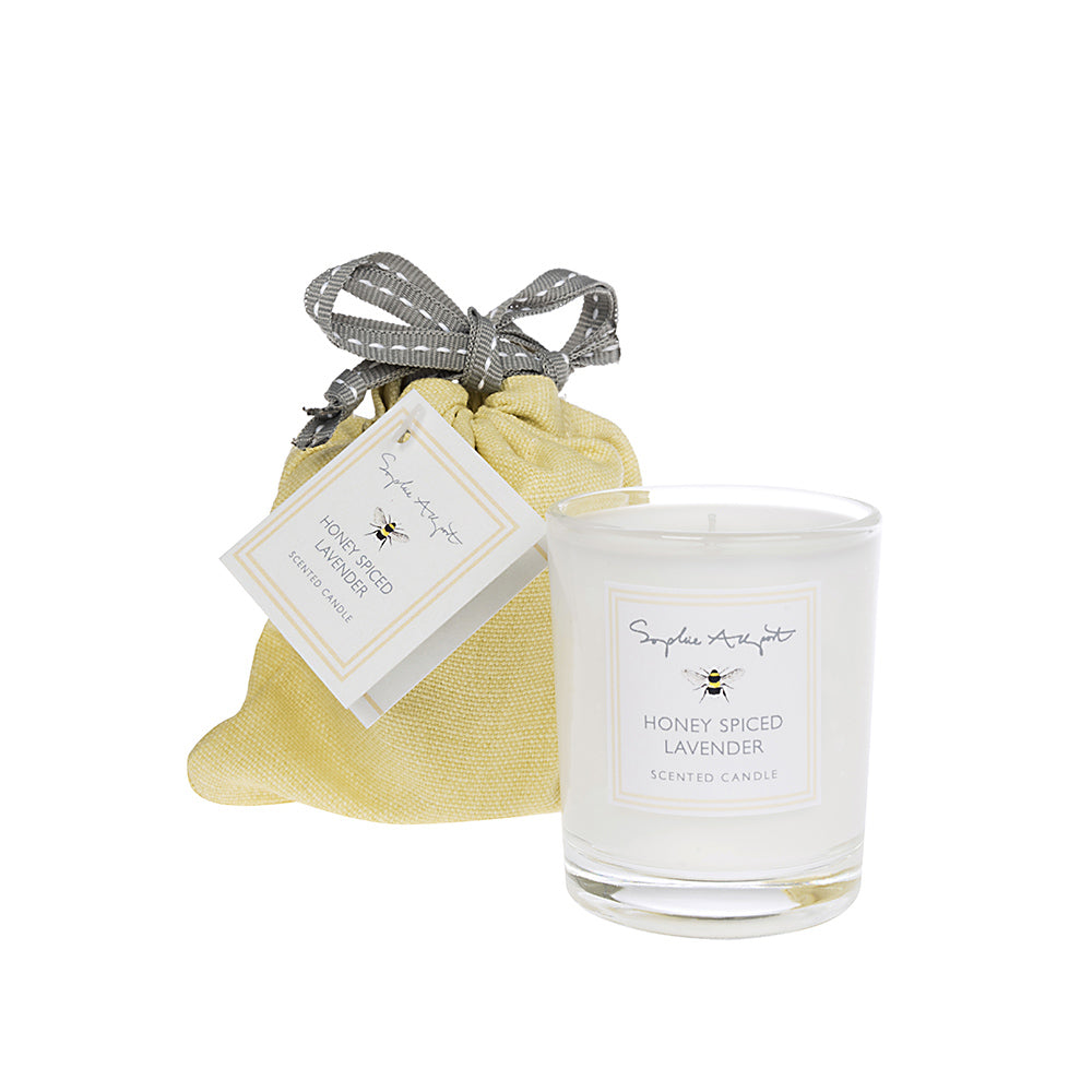 Honey Spiced Lavender Scented Candle - 75g