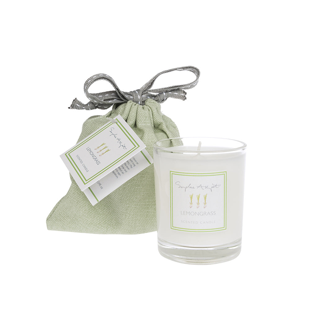 Lemongrass Scented Candle -75g