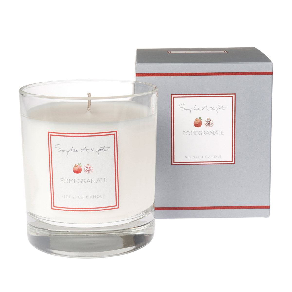 Pomegranate Scented Candle -220g