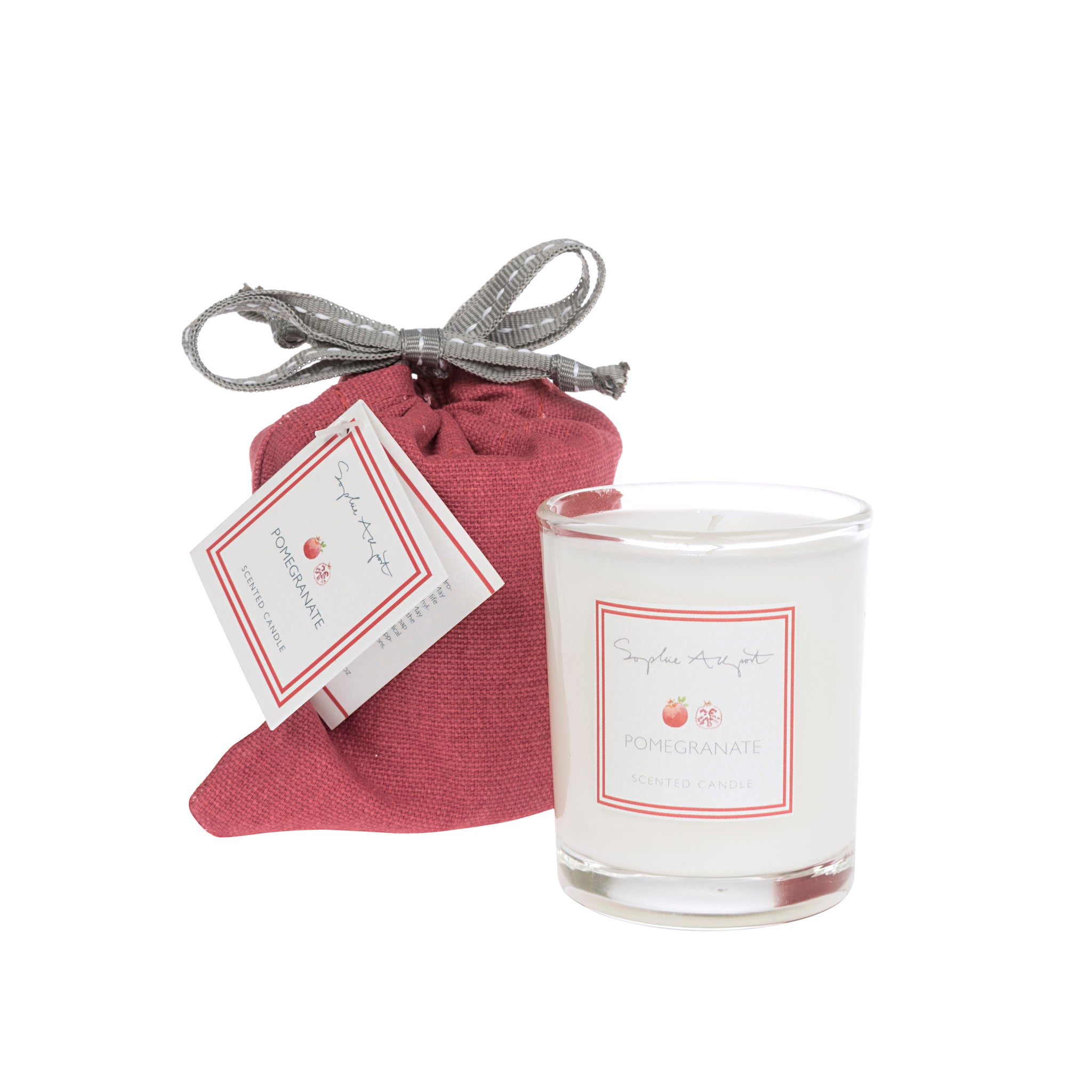 Pomegranate Scented Candle -75g