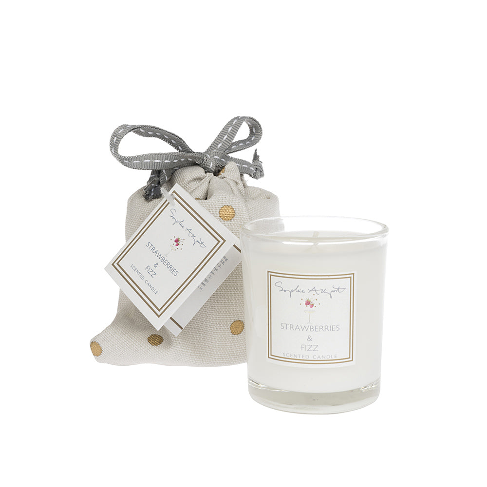 Strawberries & Fizz Candle - 75g