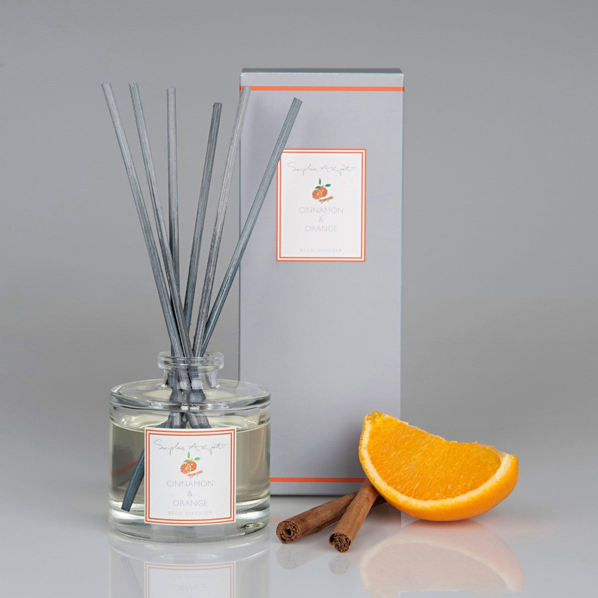 Cinnamon & Orange Scented Reed Diffuser