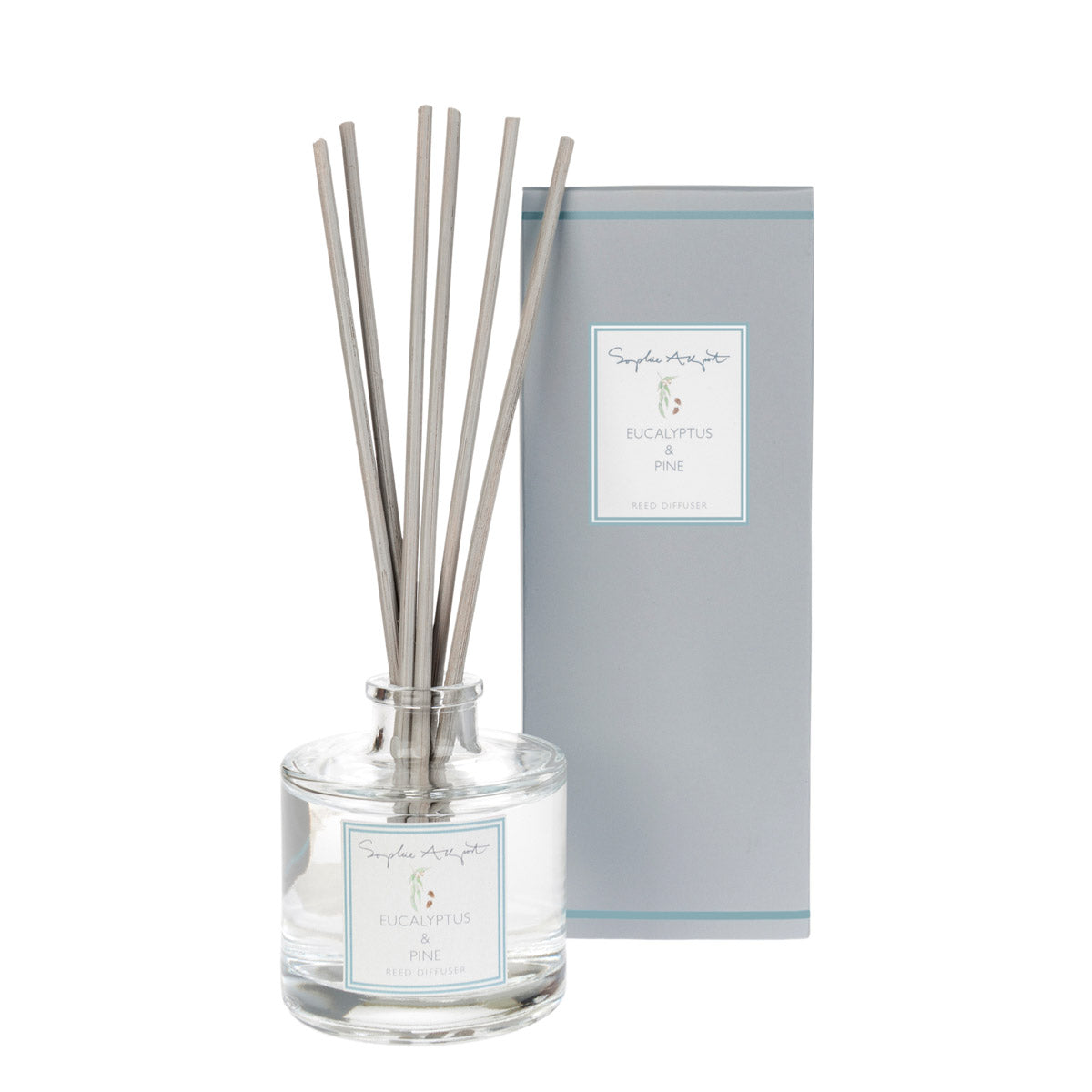 Eucalyptus & Pine Scented Reed Diffuser