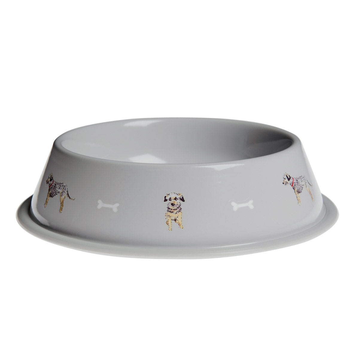 terrier dog bowl