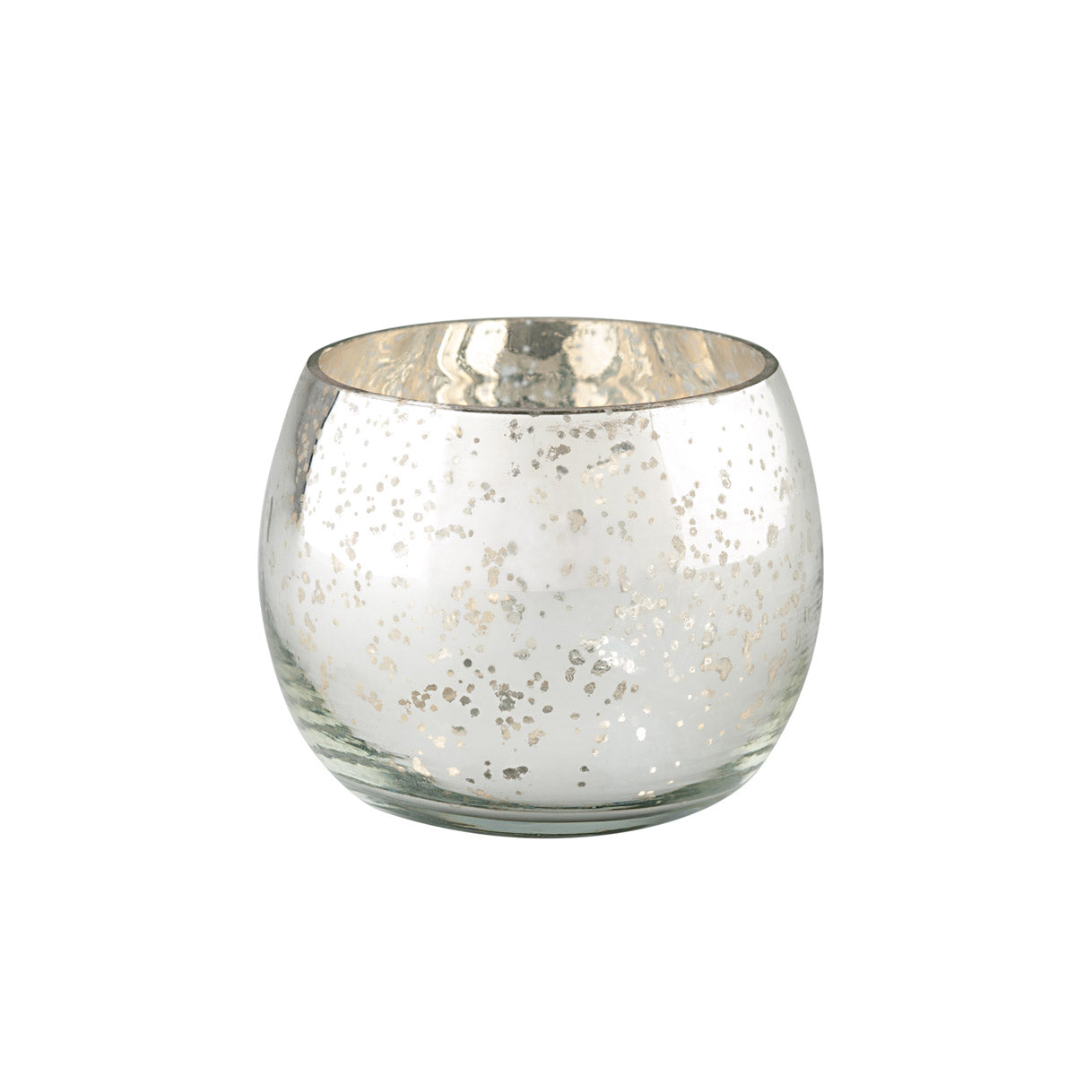 Domed Glass Tea Light Holder - Standard