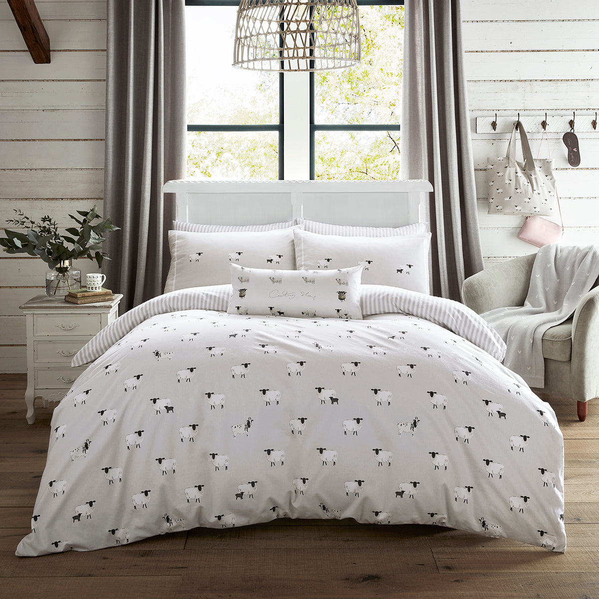 Sheep Bedding Set