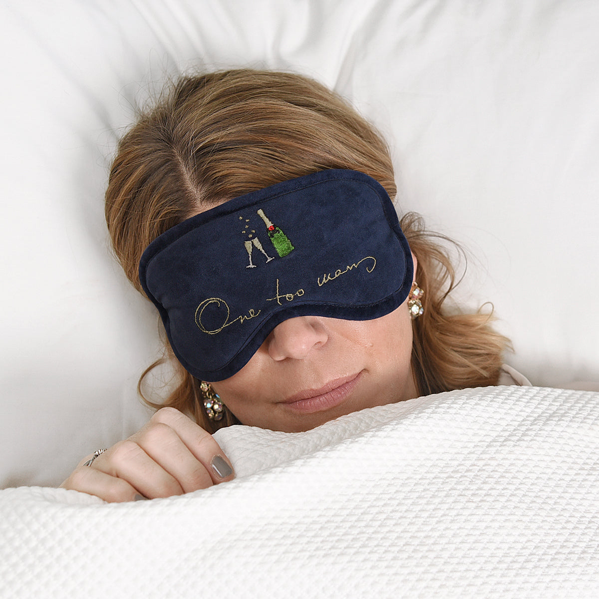 Bubbles & Fizz Sleep Mask - One too many