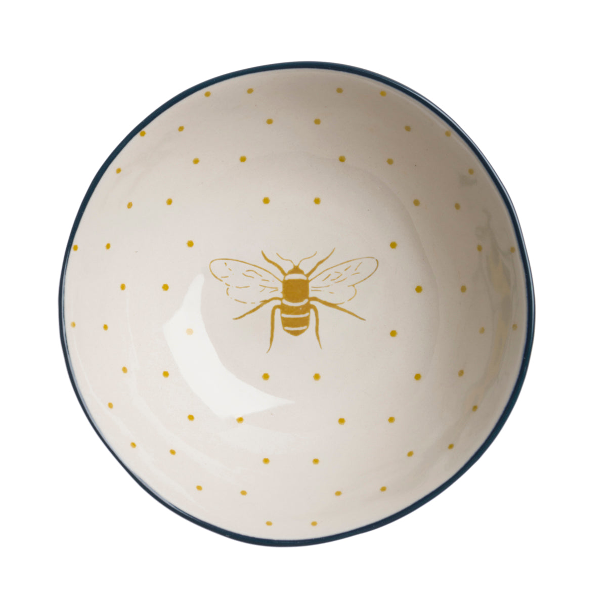 Sophie Allport Bees Stoneware Nibbles Bowl