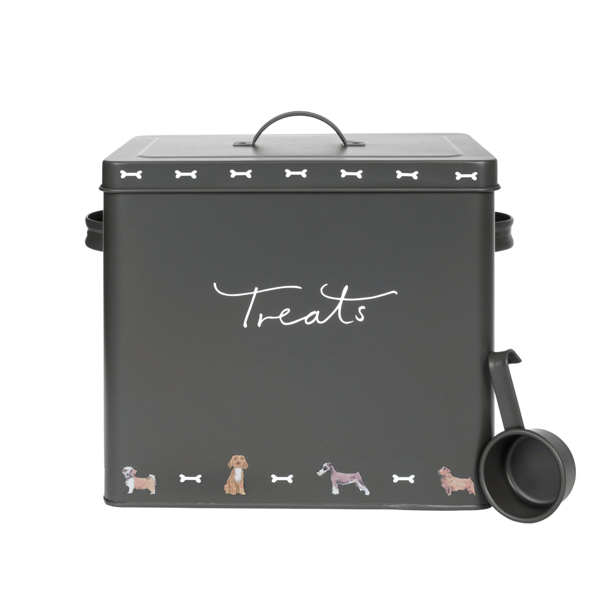 Walkies Pet Dog Treat Tin by Sophie Allport