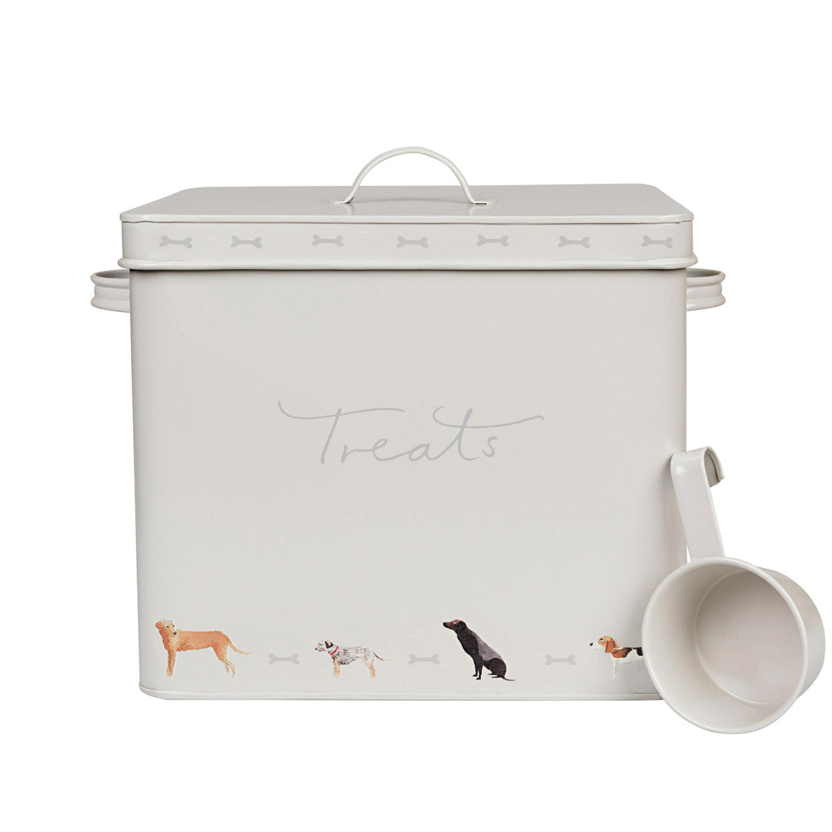 Dog Treat Tin - Woof!