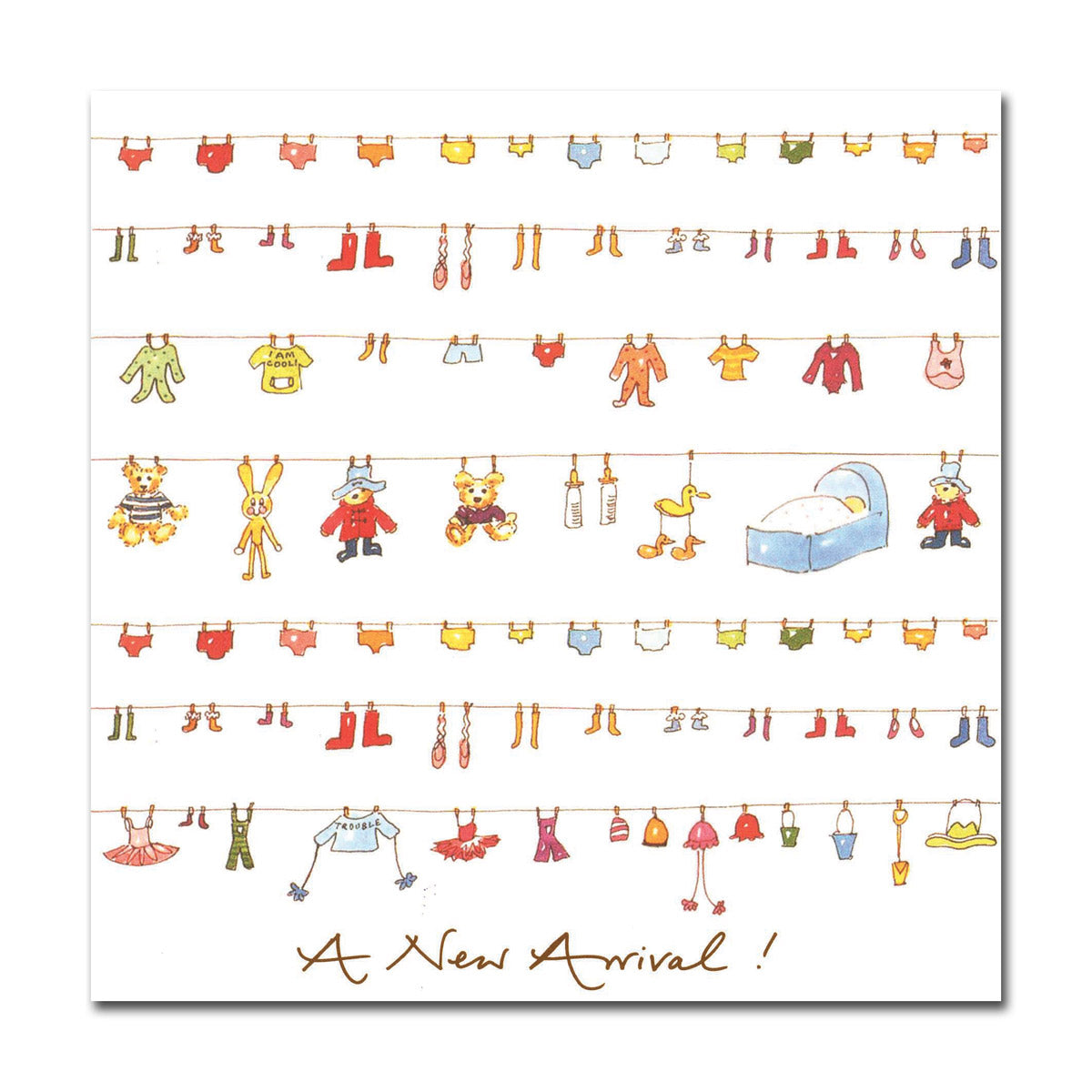 A New Arrival! Greeting Card